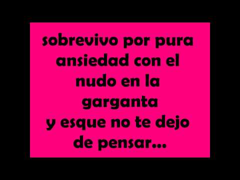 sálvame- RBD- con letra