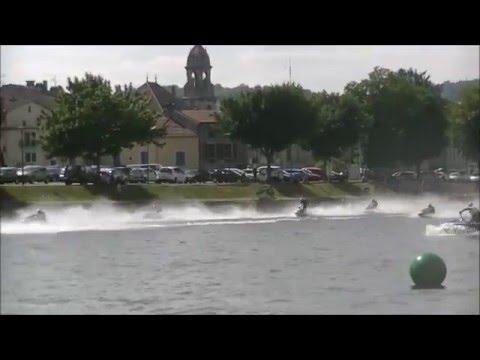 Championnat France jet ski vitesse Pont A Mousson 2015