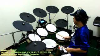 PSY - Gangnam Style Drum Cover - By Tar'z DemOn