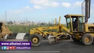 محافظ كفر الشيخ يشهد مناورة عملية لمواجهة السيول .. فيديو وصور