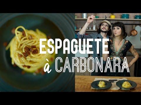 Espaguete à Carbonara | PRATO DO DIA até 10 REAIS