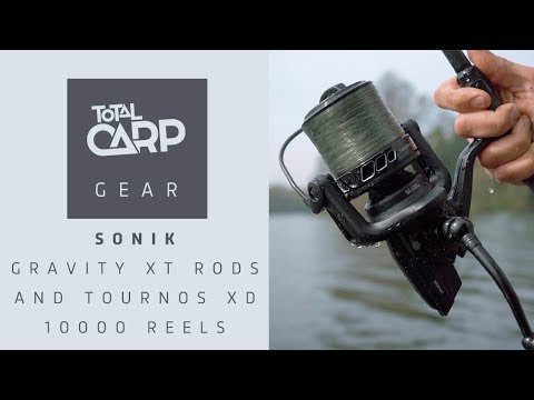 Sonik Gravity XT Rods and Tournos XD 10000 reels