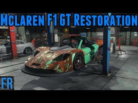 Car Mechanic Simulator 2018 -  Mclaren F1 GT Restoration