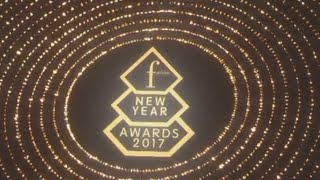 Церемония FASHION NEW YEAR AWARDS 2017