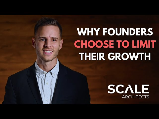 The #1 reason founders choose to cap their growth
