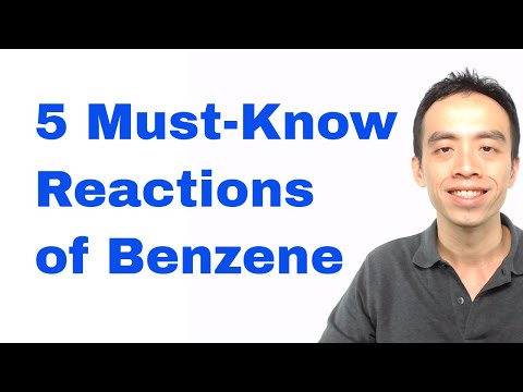 Organic Chemistry: 5 Must-Know Reactions of Benzene