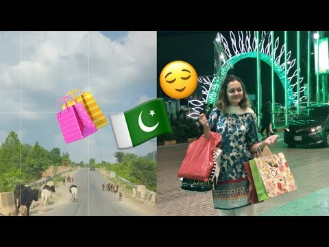 Shopping In Rawalpindi/Islamabad And Travelling To Kashmir