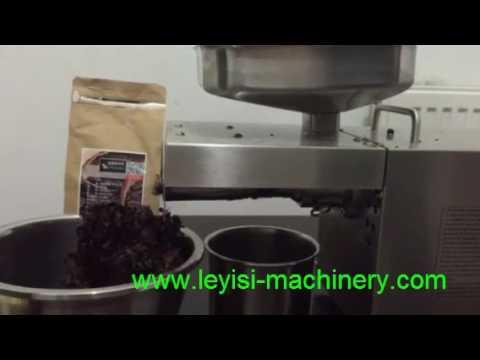 home use cocoa bean oil press machine
