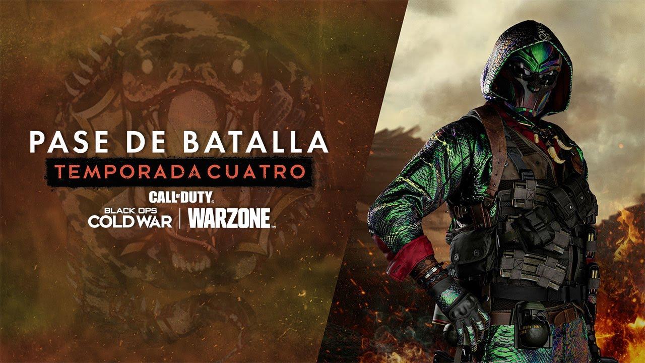 Tráiler del Pase de batalla de la Temporada 4 | Call of Duty®: Black Ops Cold War y Warzone™