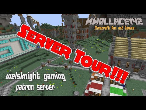 Welsknight Gaming Patron Server Ep 30 SERVER TOUR!!!