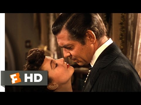 Gone with the Wind (3/6) Movie CLIP - You Need Kissing Badly (1939) HD