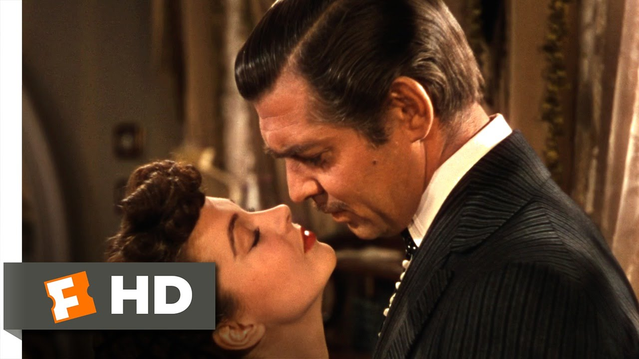 Gone with the wind rhett and scarlett