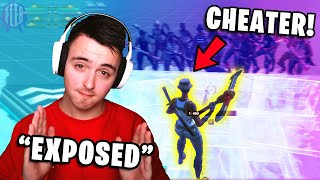 So I Exposed A Macro Cheater In Fortnite...