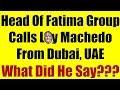 SHOCKING!!! Head Of Fatima Group, Dubai, UAE Calls Me To Tell Me.....