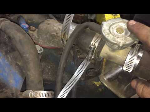 """how to mount a radiator into a full size demolition derby car project """"burn barrel"""""""
