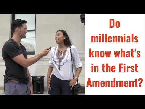 Video: Ivy League College Students Have No Idea What's in the First Amendment