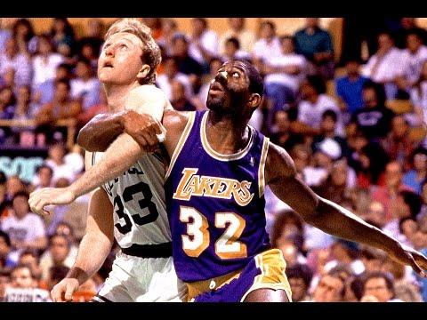 11.12.1987. – Lakers@Celtics: Larry Bird 35/9/8/5, Magic Johnson Amazing Game Winner, 80's Classic