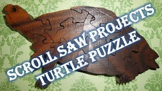 Scroll Saw Projects - Turtle Puzzle