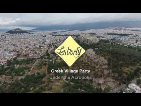 Greek Village Party Under The Acropolis, Athens, By Liberty Greece