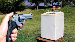 Uma Máquina de Lavar Consegue te Proteger de um Tiro?