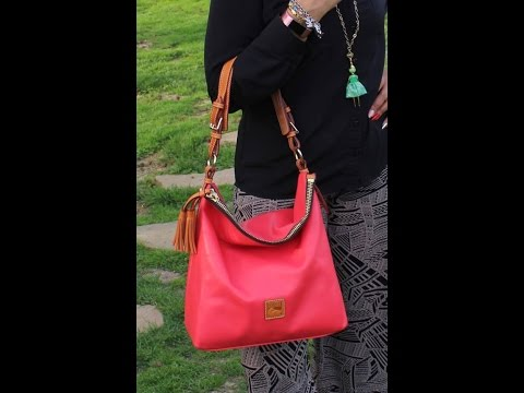 6db9745b66c5 Discovering Dooney and Bourke  Smooth Leather Hobo with Accessories ...