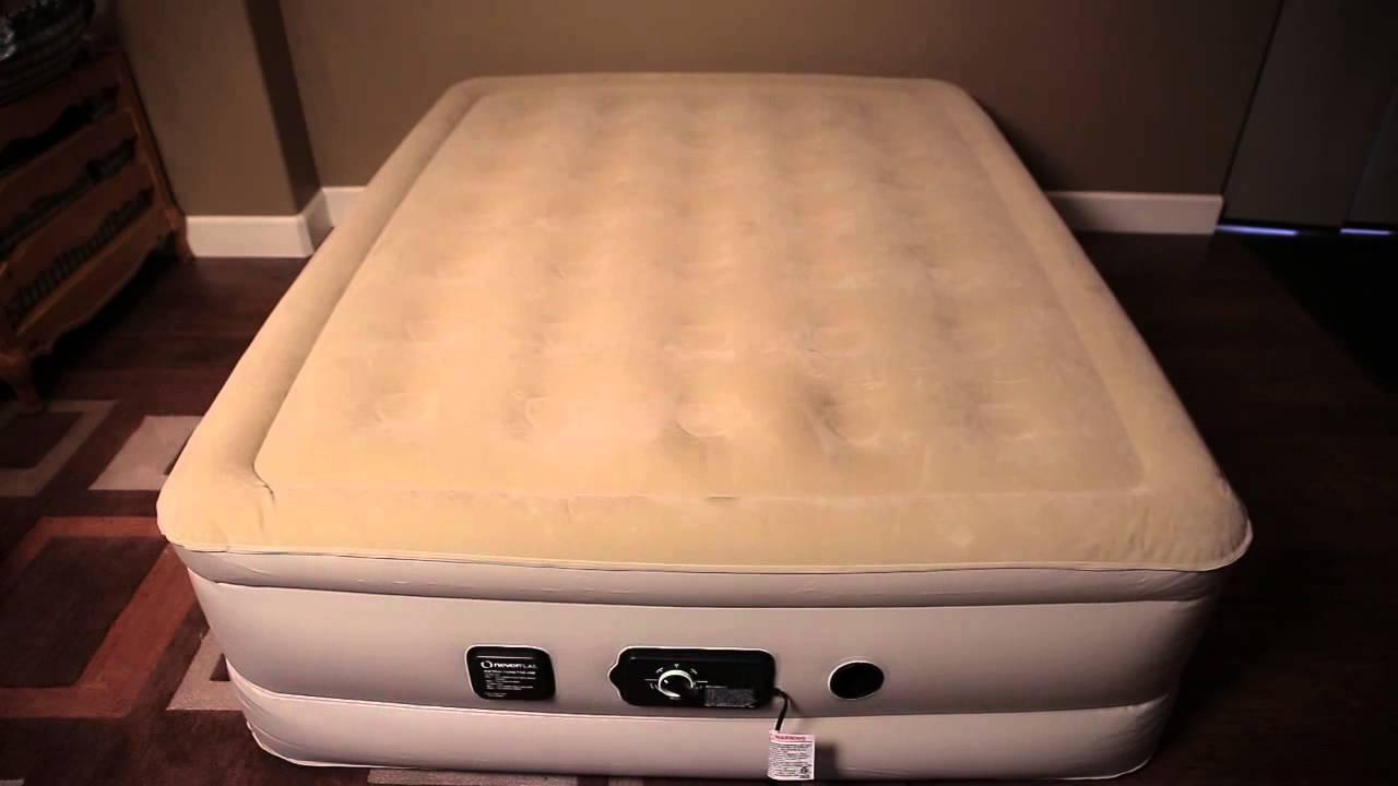 serta raised air mattress Neverflat Serta Airbed   YouTube serta raised air mattress