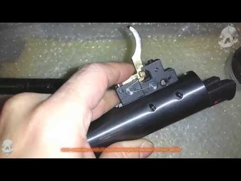 Hatsan AT44 .177 Single Shot Partial Disassembly and Safety Removal (desmontando a AT44)
