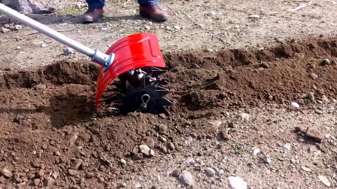 BASEH Mini Çapalama Aparatı Benzinli Tırpan Motoru için / Mini Tiller Apparatus For Brushcutter ...