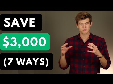 How To Save Money (7 Simple Methods)