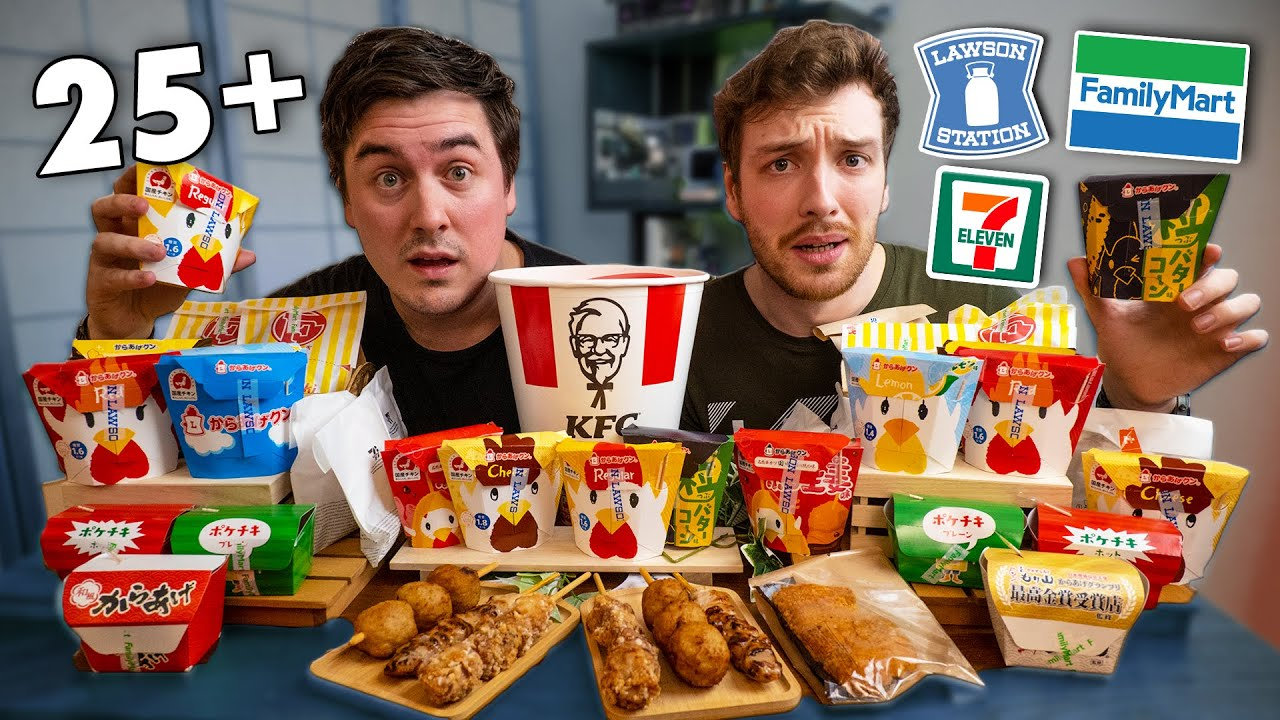 I Tried EVERY Japanese Fried Chicken | Ft. @CDawgVA