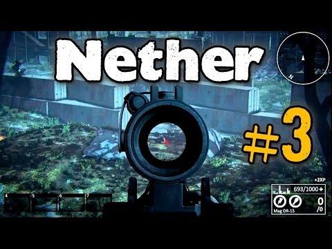 NETHER #3 | Стычки с Игроками