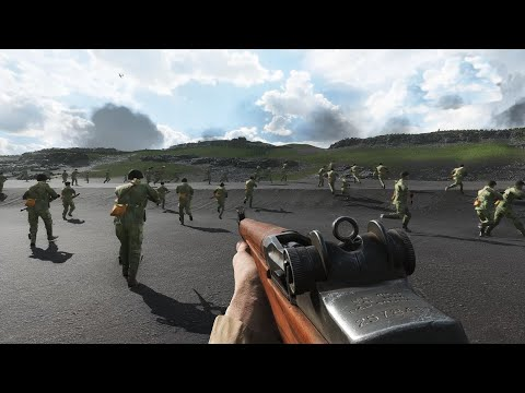 Battlefield 5 - Battle Of Iwo Jima ( No Hud  Immersion)