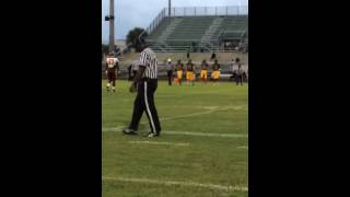 Suncoast vs glades central-coin toss