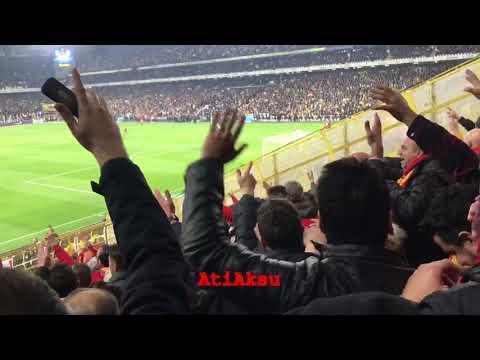Büyü bozuldu – Fenerbahçe 1-2 Galatasaray — Radamel Falcao 80' (P) – Gol Tribün Çekimi