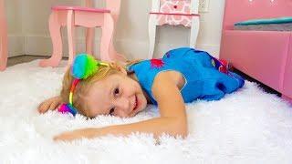 Nastya dan kamar pink barunya