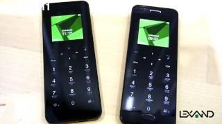 Видеообзор телефонов-гарнитур LEXAND BT1 Steel и LEXAND BT1 Glass