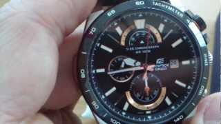 Casio Edifice EFR-520L-1Avdf (quiet review)