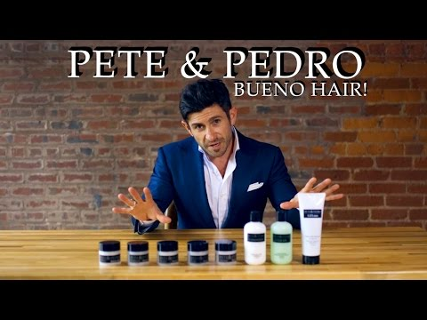 Amazing Men's Hair Styling Product Line | Pete & Pedro