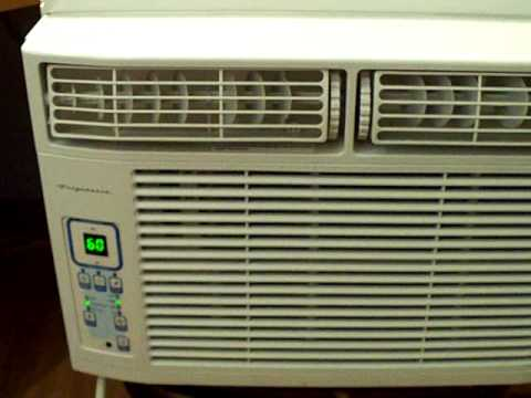 Frigidaire window air conditioner part i youtube for 17 wide window air conditioner