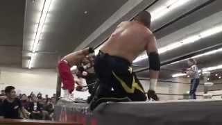2014年4月20日札幌テイセンホール BJW認定タッグ選手権〈第38代王者組〉...