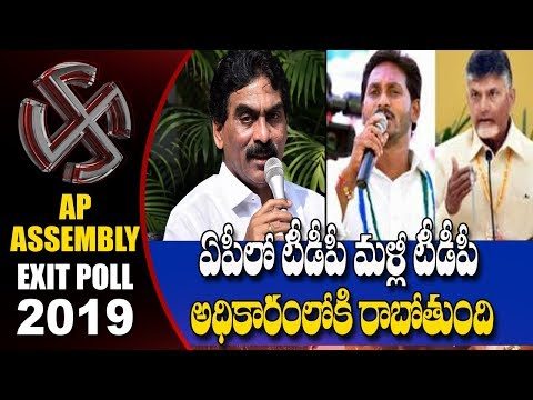 Lagadapati Rajagopal  Flash Survey on AP Election Results 2019   hmtv