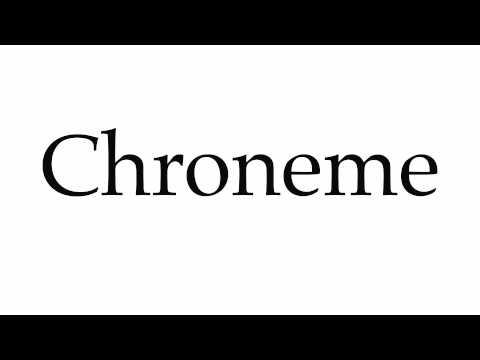 Chroneme