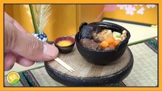 Nấu lẩu Sukiyaki Nhật Bản tí hon - Cook hotpot Sukiyaki