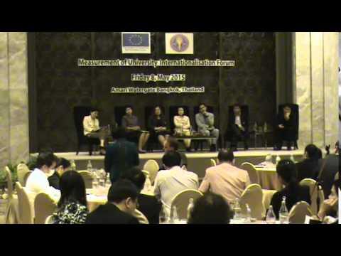 Measurement of University Internationalisation Forum (Part 5)