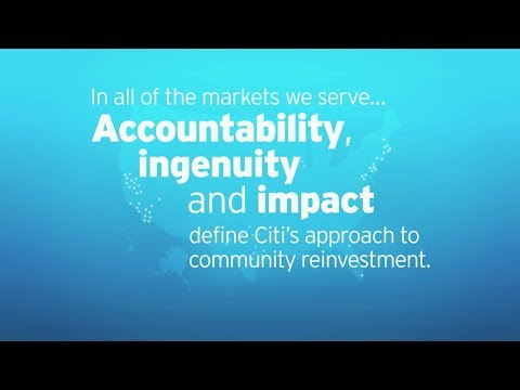 Citi: Empowering People, Building Communities