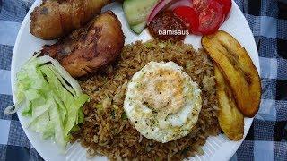 Surinaams-Javaans Nasi Goreng met kip