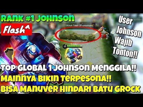 Top Global 1 Johnson Mainnya Bikin Terpesona!! - Bisa Manuver Drift!! - WAJIB TONTON NIH!!
