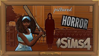 The Sims 4  Pictured (Remake)   Short Horror Machinima