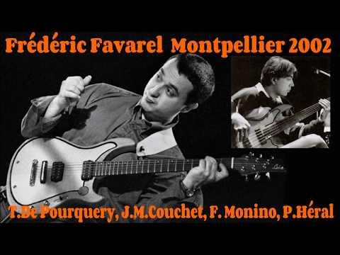 Fréderic Favarel live  Montpellier 2002