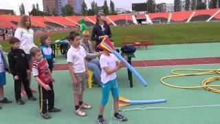Соревнования по легкой атлетике в Донецке 30.05.2015